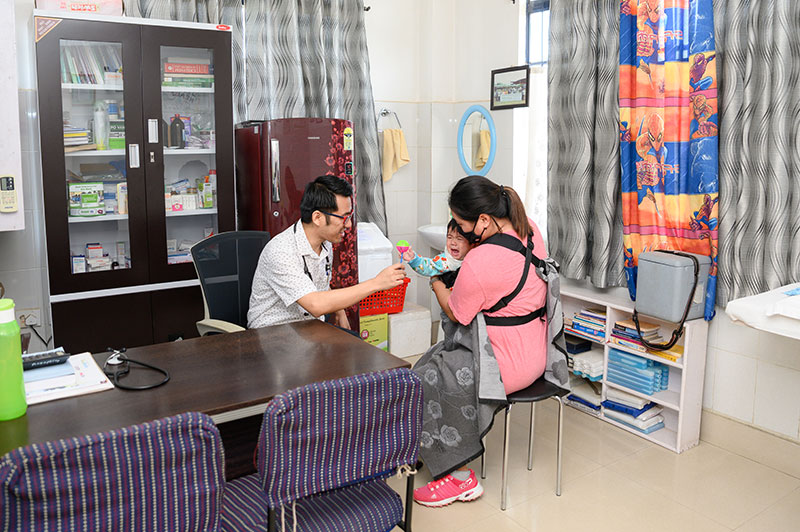 Mother-and-Child-Care Unit